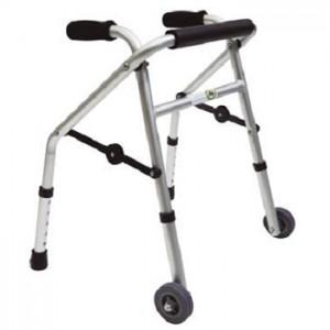 Andador pediátrico c/ 2 ruedas